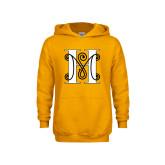 Youth Gold Fleece Hoodie-MHS Logo
