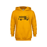 Youth Gold Fleece Hoodie-MHS Bus