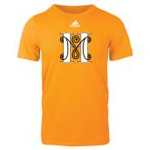 Adidas Gold Logo T Shirt-MHS Logo