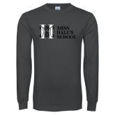 Charcoal Long Sleeve T Shirt-MHS Horizontal
