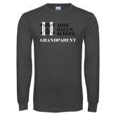 Charcoal Long Sleeve T Shirt-Grandparent