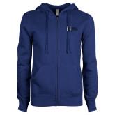 ENZA Ladies Royal Fleece Full Zip Hoodie-MHS Horizontal