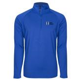 Sport Wick Stretch Royal 1/2 Zip Pullover-MHS Horizontal