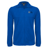 Fleece Full Zip Royal Jacket-MHS Horizontal