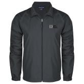 Full Zip Charcoal Wind Jacket-MHS Horizontal