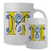 Full Color White Mug 15oz-MHS Logo