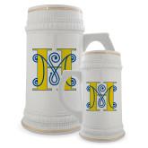 Full Color Decorative Ceramic Mug 22oz-MHS Logo