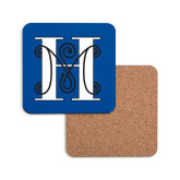 Hardboard Coaster w/Cork Backing-MHS Logo