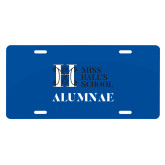 License Plate-Alumnae