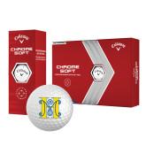Callaway Chrome Soft Golf Balls 12/pkg-MHS Logo