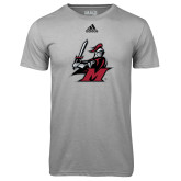 Adidas Climalite Sport Grey Ultimate Performance Tee-M with Knight