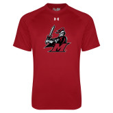 Under Armour Cardinal Tech Tee-M with Knight