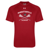 Under Armour Cardinal Tech Tee-Lacrosse Crossed Sticks