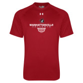 Under Armour Cardinal Tech Tee-Basketball Sharp Net