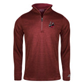 Russell Cardinal Heather 1/4 Zip-M with Knight