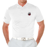 Callaway Opti Vent White Polo-M with Knight