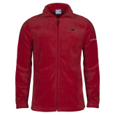 Columbia Full Zip Cardinal Fleece Jacket-M Icon