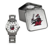 Ladies Stainless Steel Fashion Watch-M with Knight