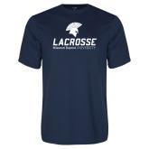 Performance Navy Tee-Lacrosse