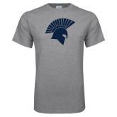 Grey T Shirt-Spartan Icon