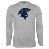 Performance Platinum Longsleeve Shirt-Spartan Icon