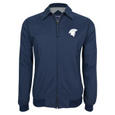 Navy Players Jacket-Spartan Icon