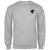 Grey Fleece Crew-Spartan Icon