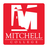 Medium Decal-Mitchell College Vertical Logo, 8 inches tall