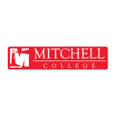 Medium Decal-Mitchell College Horizontal Logo, 8 inches wide
