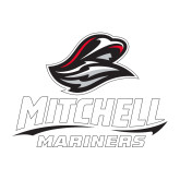 Medium Decal-Mitchell Mariners Stacked