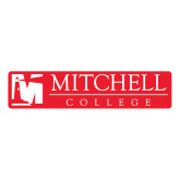 Large Decal-Mitchell College Horizontal Logo, 12 inches wide