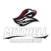 Large Decal-Mitchell Mariners Stacked