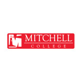 Small Decal-Mitchell College Horizontal Logo, 6 inches wide