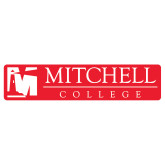 Extra Large Decal-Mitchell College Horizontal Logo, 18 inches wide