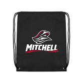 Black Drawstring Backpack-Mitchell W Mariner
