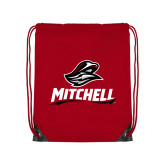 Red Drawstring Backpack-Mitchell W Mariner