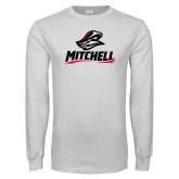 White Long Sleeve T Shirt-Mitchell W Mariner