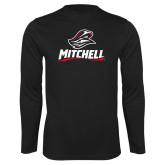 Performance Black Longsleeve Shirt-Mitchell W Mariner