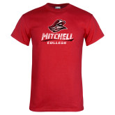 Red T Shirt-Primary Athletics Distressed