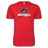 Next Level SoftStyle Red T Shirt-Mitchell W Mariner