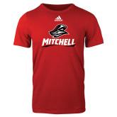 Adidas Red Logo T Shirt-Mitchell W Mariner