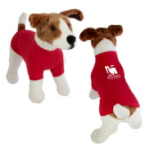 Classic Red Dog T Shirt-Mitchell College Vertical Logo