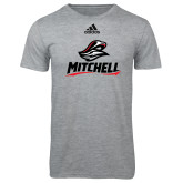 Adidas Sport Grey Logo T Shirt-Mitchell W Mariner