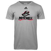 Adidas Climalite Sport Grey Ultimate Performance Tee-Mitchell W Mariner
