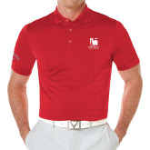 Callaway Opti Vent Red Polo-Mitchell College Vertical Logo