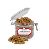 Cashew Indulgence Small Round Canister-Mitchell College Vertical Logo