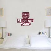 2 ft x 2 ft Fan WallSkinz-Bear Head Missouri State Stacked