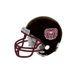 Riddell Replica Black Mini Helmet-Bear Head