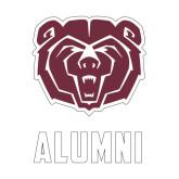 Alumni Decal-Alumni, 6 inches tall