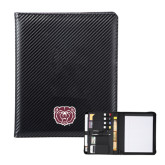 Carbon Fiber Tech Padfolio-Bear Head